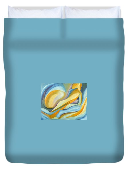 River Duvet Cover