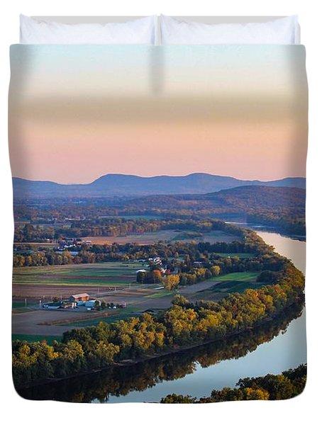 Connecticut River View  Duvet Cover
