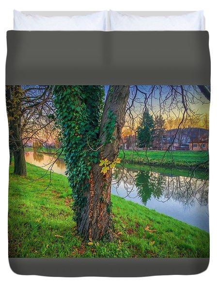 River Nitra Duvet Cover