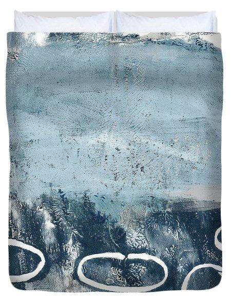 River Walk 2- Art By Linda Woods Duvet Cover