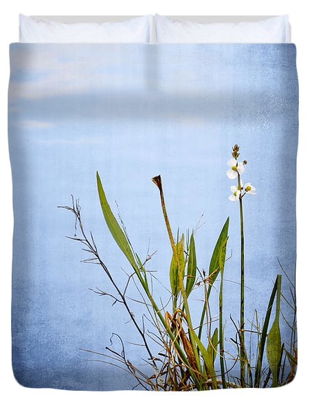 Riverbank Beauty Duvet Cover by Carolyn Marshall