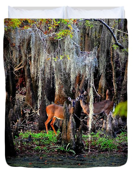 Riverside Deer Duvet Cover