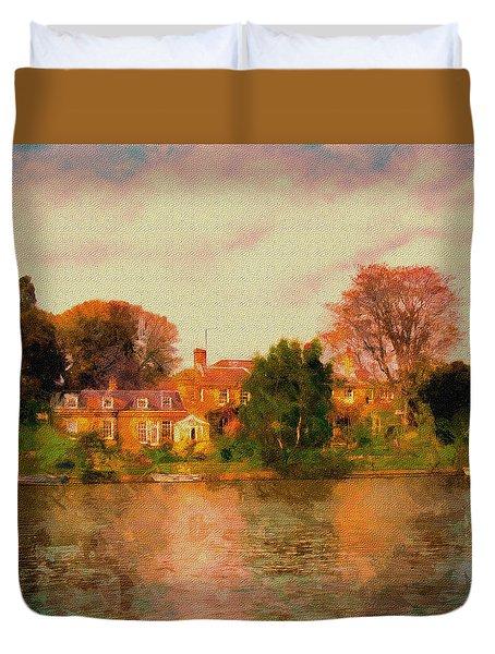 Riverview II Duvet Cover
