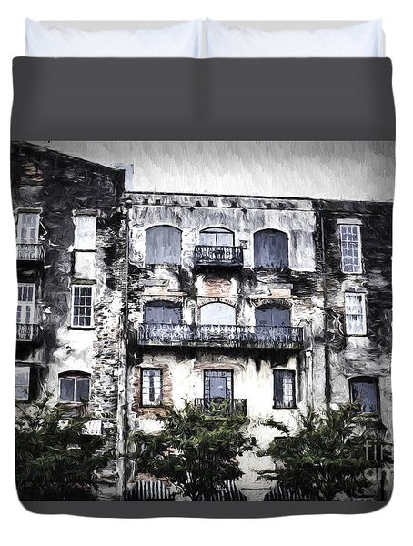 Riverview Duvet Cover by Judy Wolinsky