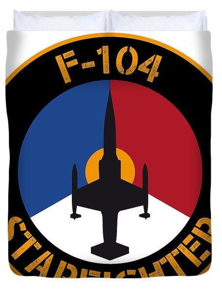 Rnlaf F-104 Starfighter Duvet Cover