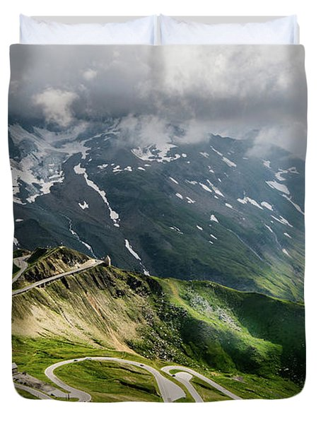 Road Austria Duvet Cover