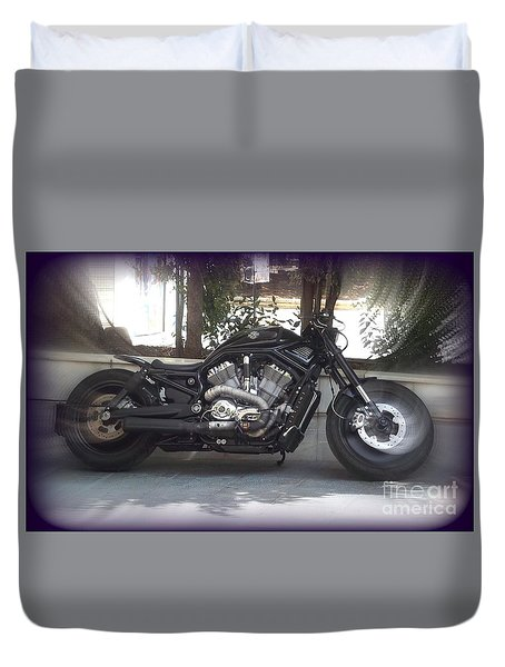 Road Beast Duvet Cover