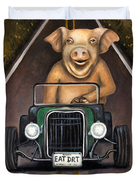 Road Hog Duvet Cover