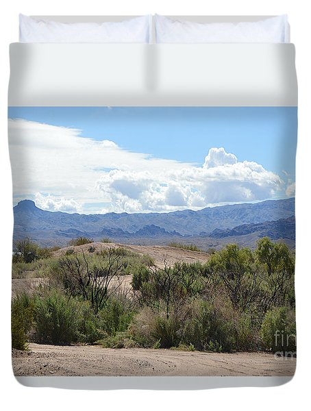 Road Less Traveled Duvet Cover by Renie Rutten