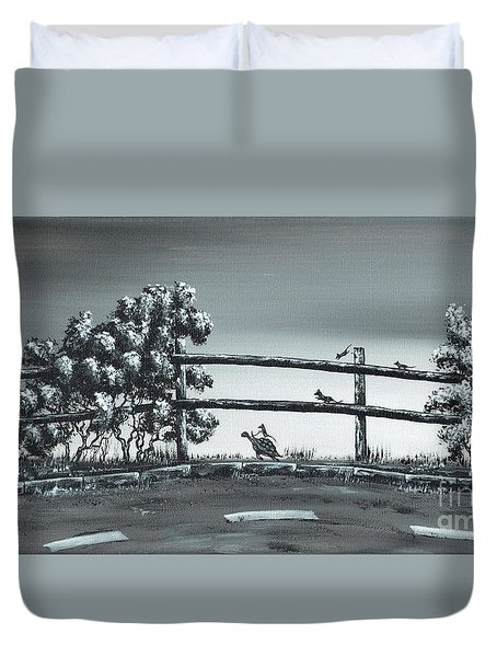 Road Runner. Duvet Cover