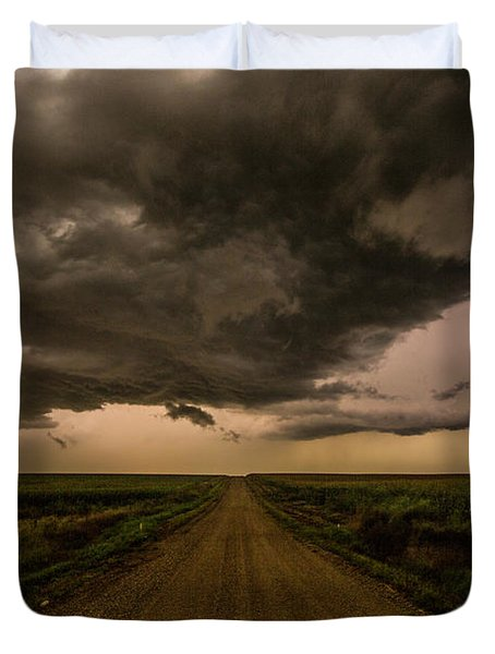Road To Chaos  Duvet Cover