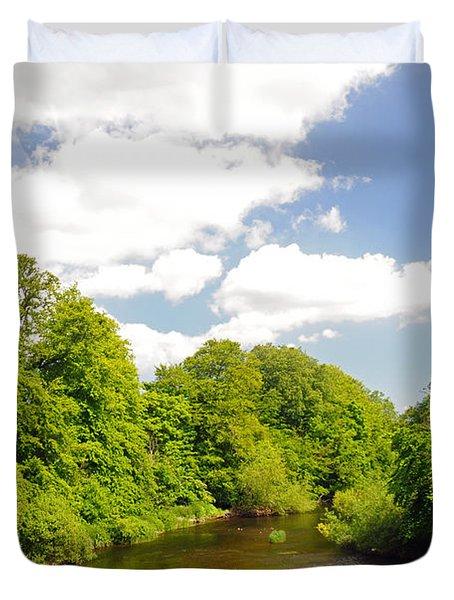 Road To Dunboyne Duvet Cover