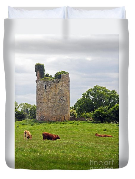 Road To Kilkenny Duvet Cover by Cindy Murphy - NightVisions