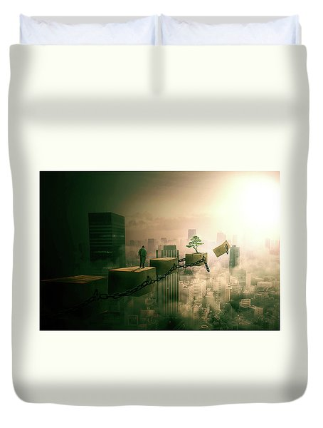 Road To Recovery  Duvet Cover by Nathan Wright