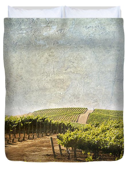 Road To Riches Duvet Cover by Marilyn Hunt
