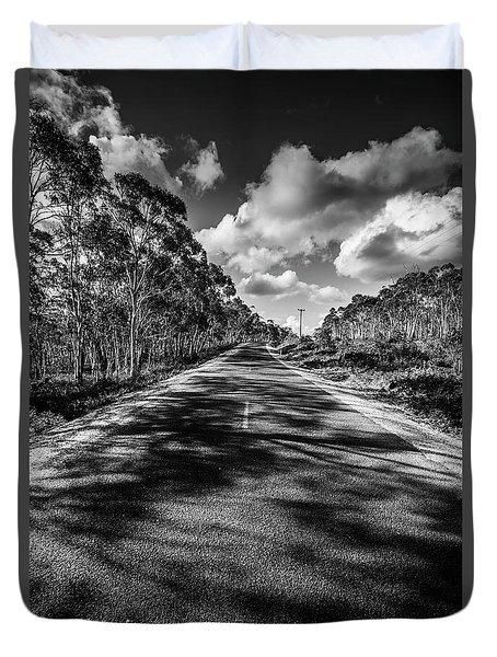 Road To Rossarden Duvet Cover