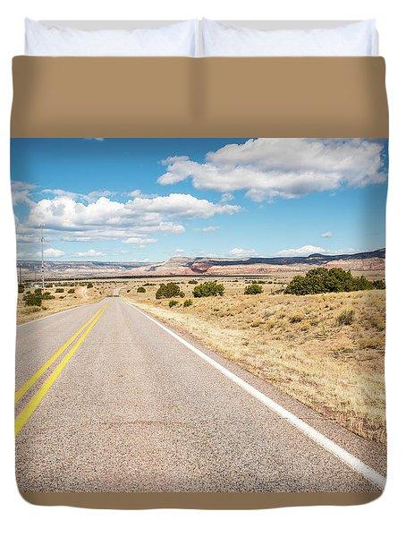 Road To San Ysidro Duvet Cover