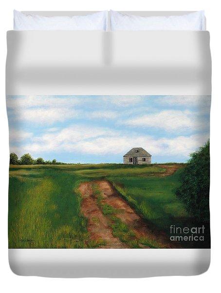 Road To The Past Duvet Cover