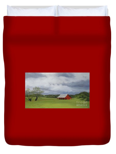 Road To Yosemite Duvet Cover