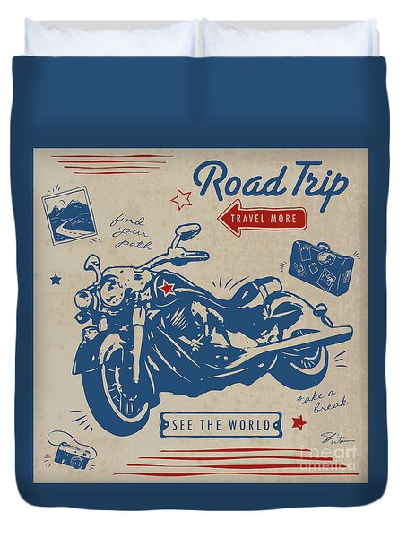 Road Trip Duvet Cover