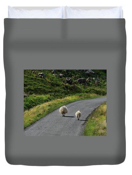 Road Trip Duvet Cover