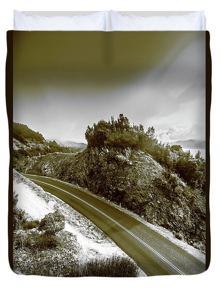 Roads Of High Dynamic Ranges Duvet Cover
