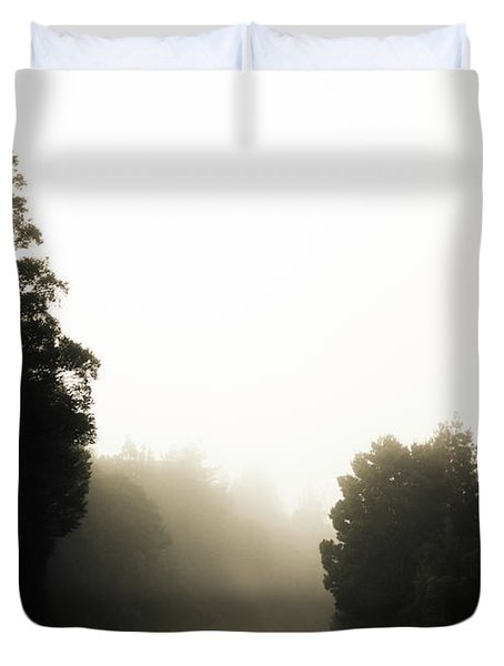 Roads Of Twists And Turns Duvet Cover