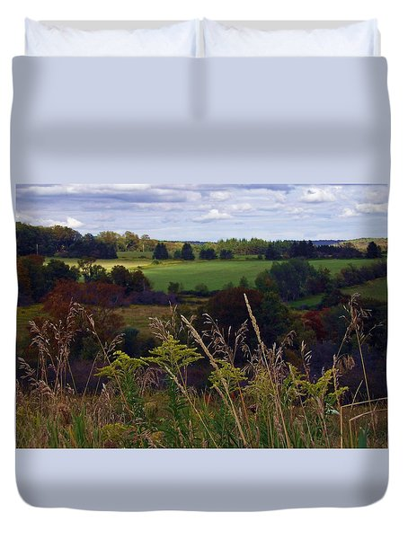 Roadside Wanderings Duvet Cover