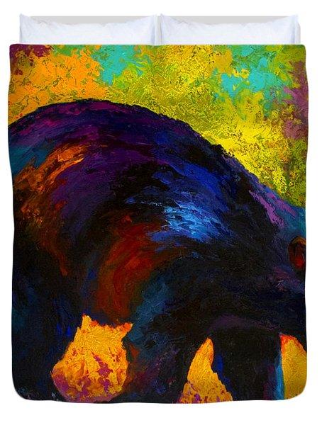 Roaming - Black Bear Duvet Cover
