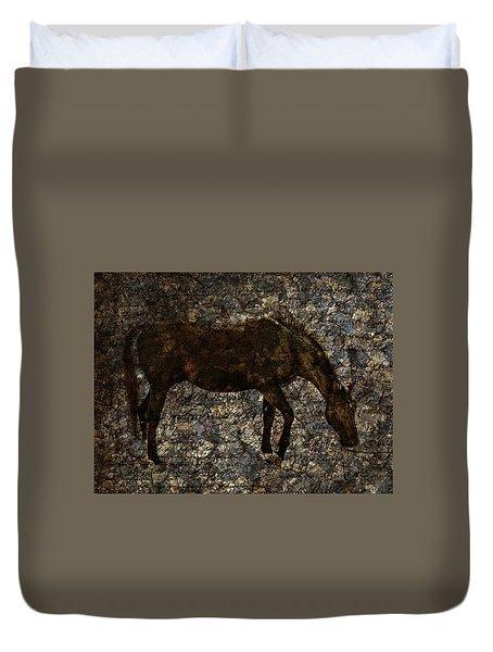 Roan Stallion Duvet Cover