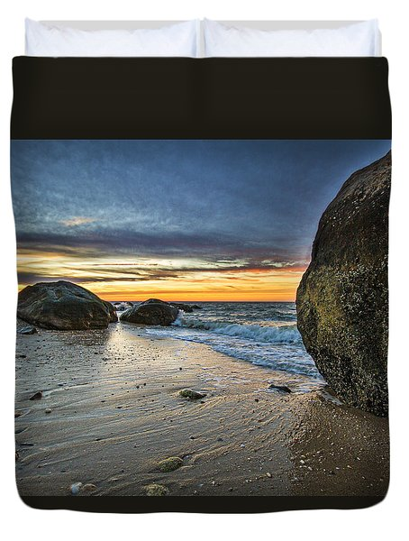 Roanoke Sunset Duvet Cover