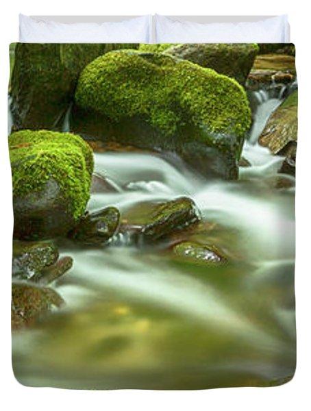Roaring Fork Cascade Duvet Cover