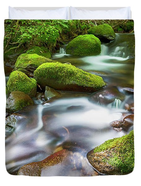 Roaring Fork Waters Duvet Cover