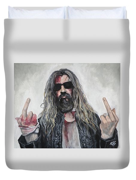 Rob Zombie Duvet Cover