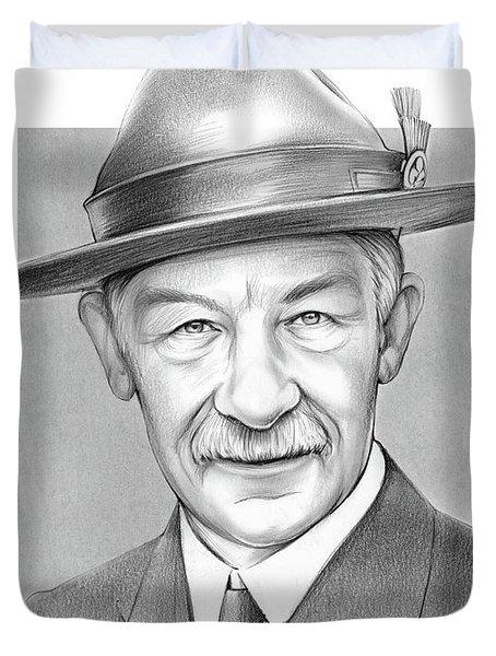 Robert Baden Powell Duvet Cover