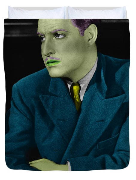 Robert Donat Duvet Cover