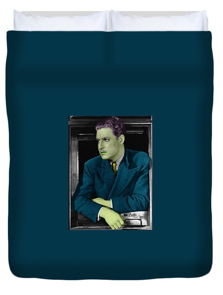Robert Donat Duvet Cover by Emme Pons