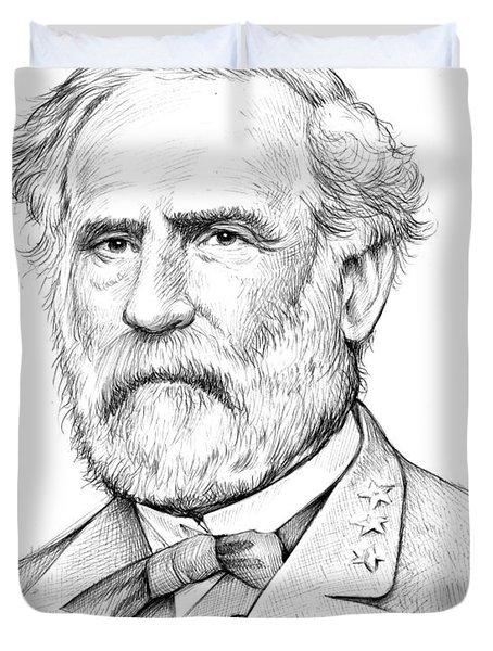 Robert E. Lee Duvet Cover