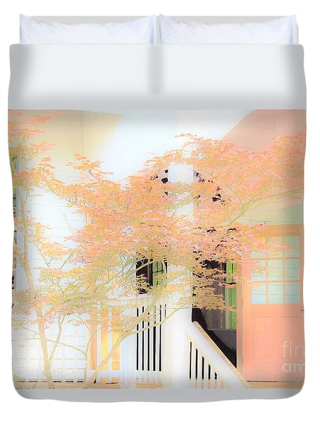 Robert F. Thomas Chapel Duvet Cover