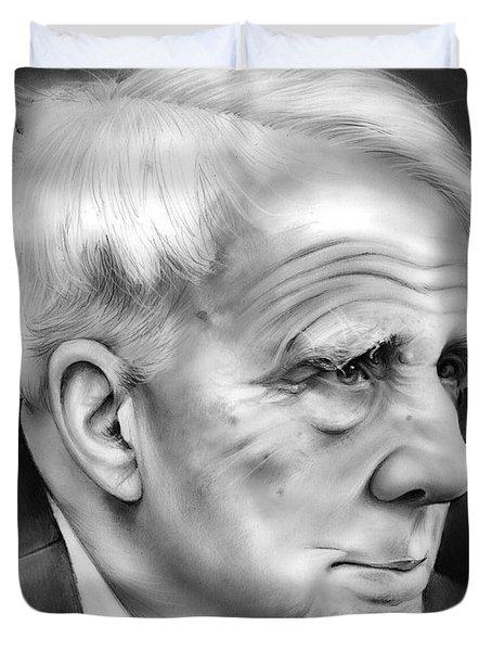 Robert Frost Duvet Cover