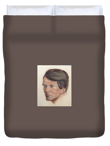 Robert Kennedy Duvet Cover by Anthony Ross