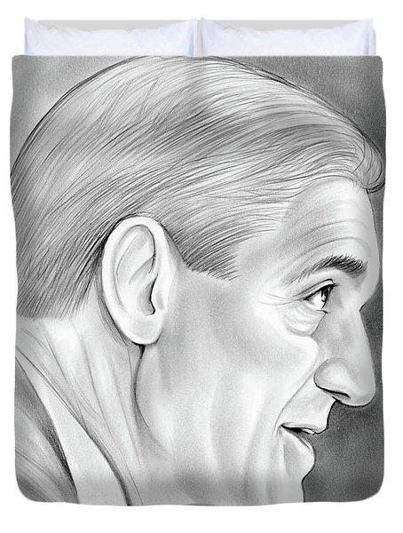 Robert Mueller Duvet Cover