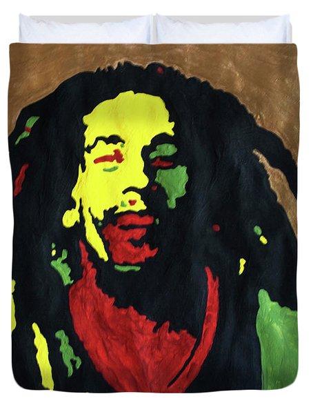 Robert Nesta Marley Duvet Cover