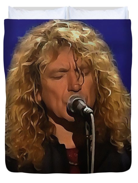 Robert Plant 001 Duvet Cover