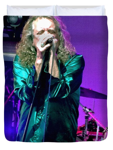 Robert Plant And The Sensational Space Shifters.4 Duvet Cover