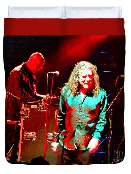 Robert Plant And The Sensational Space Shifters.5 Duvet Cover
