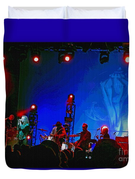 Robert Plant And The Sensational Space Shifters.8 Duvet Cover