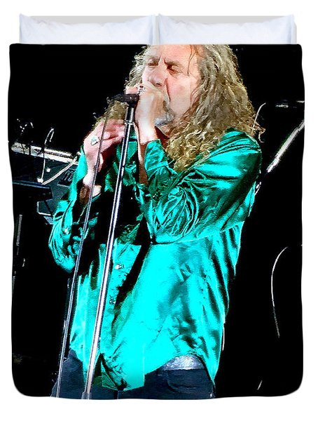 Robert Plant And The Sensational Space Shifters.3 Duvet Cover