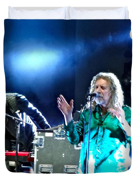 Robert Plant And The Sensational Space Shifters.2 Duvet Cover