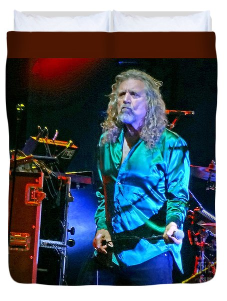 Robert Plant And The Sensational Space Shifters.7 Duvet Cover